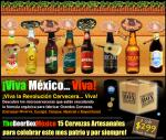Vivan las Grandiosas Cerveceras de México Cervezas Cucapá, Minerva, Tempus, Tijuana, Mexicali y Bayernbraü. ¡Viva México...
